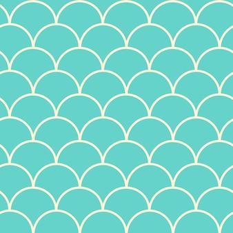 Padrão sem emenda de cauda de sereia. textura de pele de peixe. fundo lavável para tecido de menina, design têxtil, papel de embrulho, roupa de banho ou papel de parede. fundo de cauda de sereia azul com escama de peixe debaixo d'água.