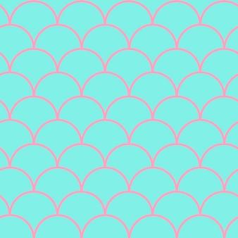 Padrão sem emenda de cauda de sereia. textura de pele de peixe. fundo lavável para tecido de menina, design têxtil, papel de embrulho, roupa de banho ou papel de parede. fundo de cauda de sereia roxa com escama de peixe debaixo d'água.