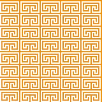 Padrão sem emenda de chave grega. meandro geométrico. fundo abstrato do vetor vintage