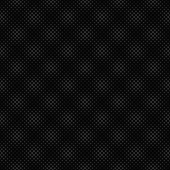 Padrão sem emenda de círculo abstrato preto e branco