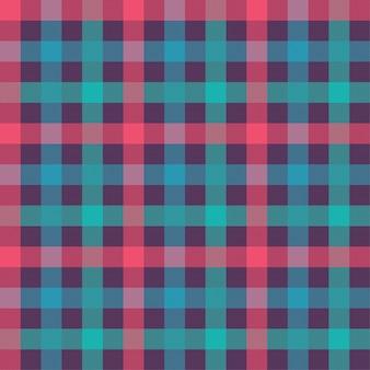 Padrão sem emenda de cor de camiseta. textura de tecido de flanela. fundo xadrez têxtil