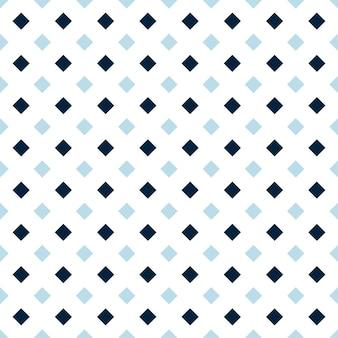 Padrão sem emenda de forma dimoand azul escuro e azul claro, plano de fundo verificado