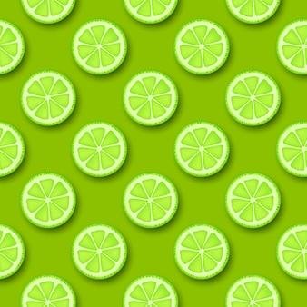 Padrão sem emenda de fruta limão.