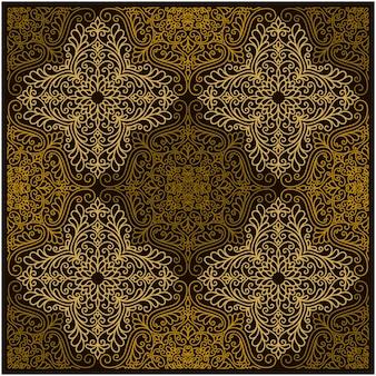 Padrão sem emenda de geometria abstrata
