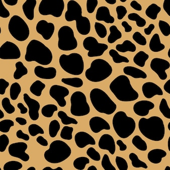 Padrão sem emenda de leopardo de pele de animal. chita, jaguar, pantera, pele de leopardo.