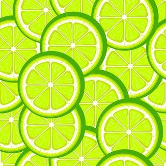Padrão sem emenda de limão cítrico.