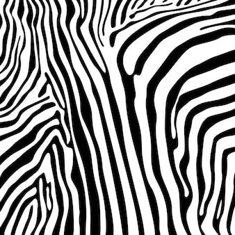 Padrão sem emenda de listras de zebra