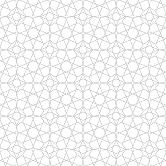 Padrão sem emenda de mosaico árabe