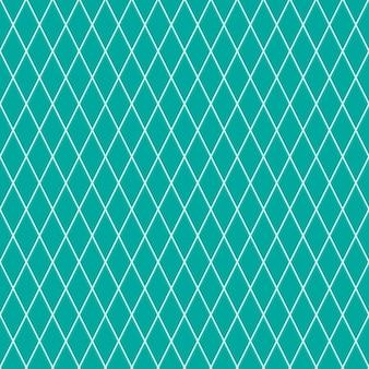 Padrão sem emenda de pequenos losangos em cores turquesas