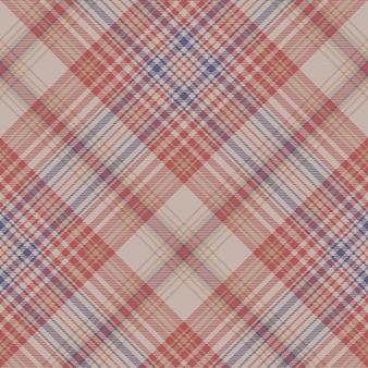 Padrão sem emenda de textura de tecido xadrez vintage