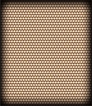 Padrão sem emenda de textura de vime abstrata