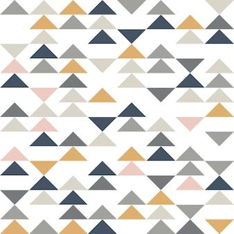 Padrão sem emenda de triângulo abstrato