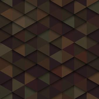 Padrão sem emenda de triângulos