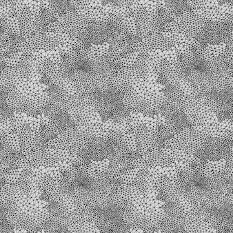 Padrão sem emenda de vetor abstrato de grade geométrica triangular