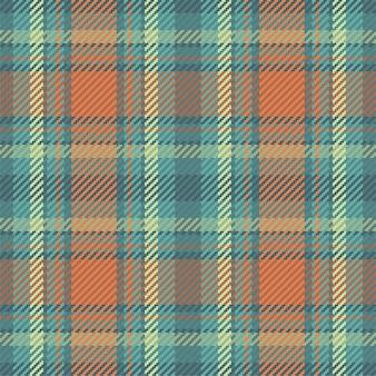 Padrão sem emenda de xadrez escocês. fundo repetível com design de tecido de verificação.