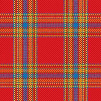 Padrão sem emenda de xadrez escocês. fundo repetível com textura de tecido de seleção. pano de fundo de vetor plana de impressão têxtil listrado.
