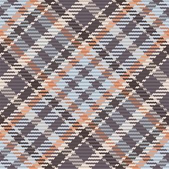 Padrão sem emenda de xadrez escocês. fundo repetível com textura de tecido de verificação.