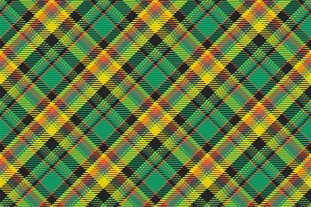 Padrão sem emenda de xadrez escocês. fundo repetível