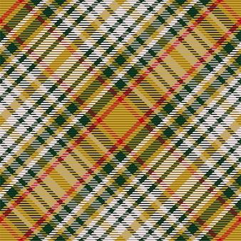 Padrão sem emenda de xadrez escocês. verifique a textura do tecido.