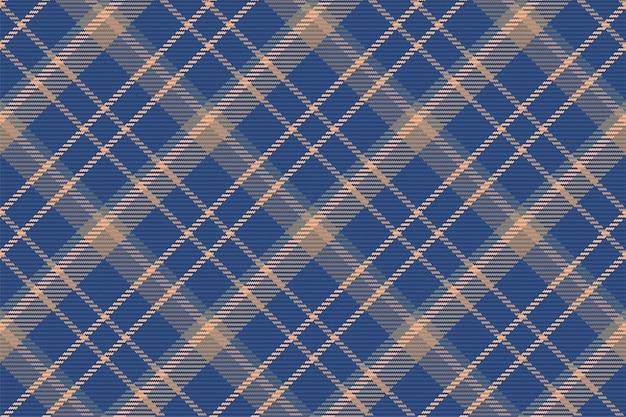 Padrão sem emenda de xadrez escocês Vetor Premium