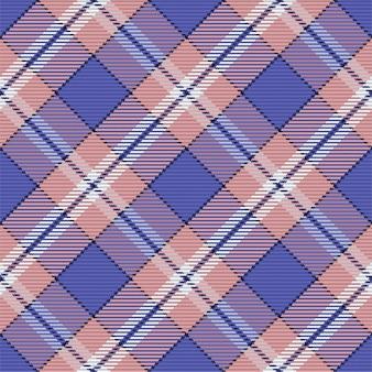 Padrão sem emenda de xadrez escocês.