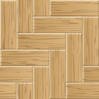 Padrão sem emenda em parquet de madeira