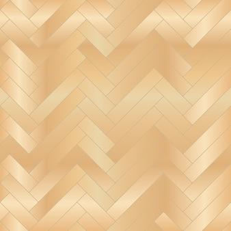Padrão sem emenda em parquet de piso de madeira