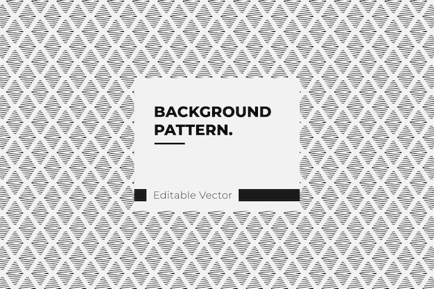 Padrão sem emenda em zigue-zague vertical em preto e branco