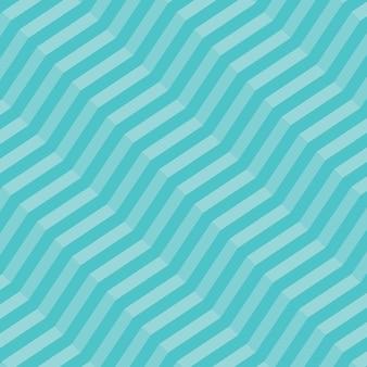 Padrão sem emenda em ziguezague diagonal geométrico retrô - vetor