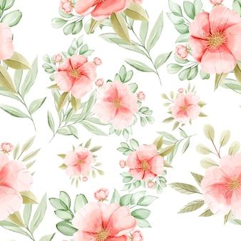 Padrão sem emenda floral elegante