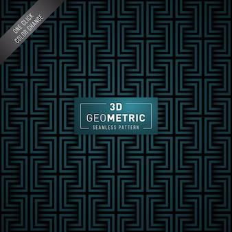 Padrão sem emenda geométrico 3d