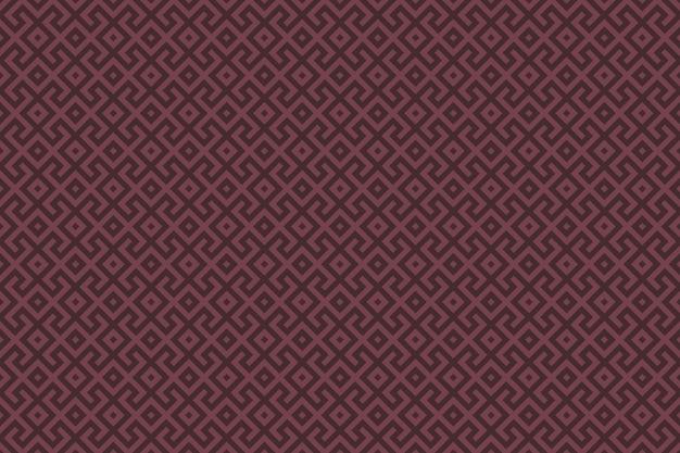 Padrão sem emenda geométrico marrom