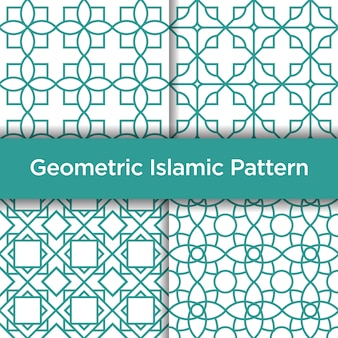 Padrão sem emenda islâmico geométrico