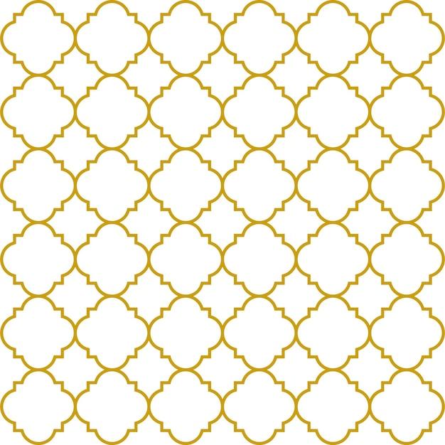 Padrão sem emenda ornamental árabe. papel de parede vintage. ilustração vetorial