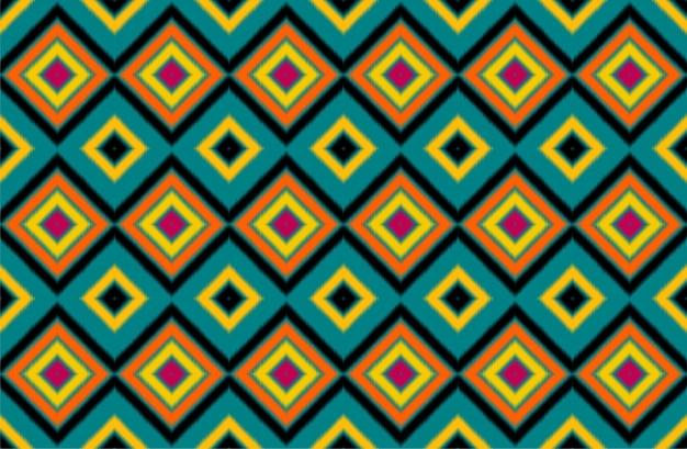 Padrão sem emenda repetindo design com formas geométricas