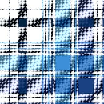 Padrão sem emenda xadrez diagonal abstrato azul