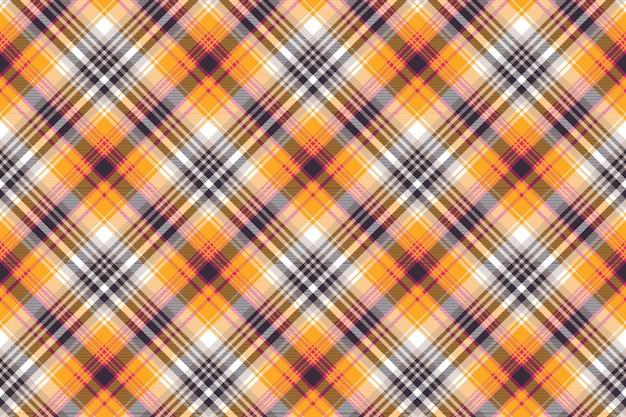 Padrão sem emenda xadrez laranja