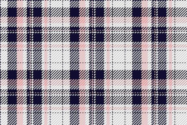 Padrão sem emenda xadrez xadrez em vetor para impressão de camisas, padrões jacquard, gráficos têxteis