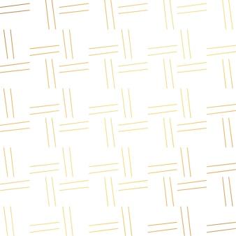 Padrão simples linhas na cor dourada