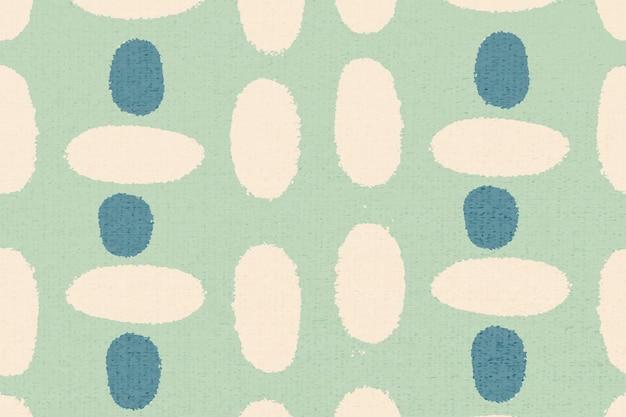 Padrão simples, vetor de fundo vintage têxtil em verde