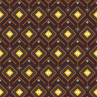 Padrão songket com formas tradicionais