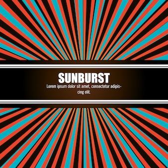Padrão sunburst
