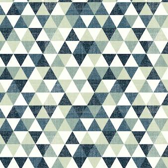 Padrão triangular verde