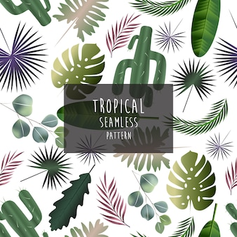 Padrão tropical, padrão sem emenda