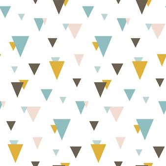 Padrão uniforme com triângulos aleatórios