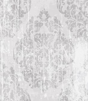 Padrão vitoriano barroco vintage