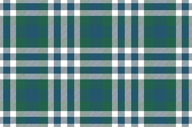 Padrão xadrez sem emenda. verifique a textura do tecido. fundo quadrado da listra. design têxtil vetorial