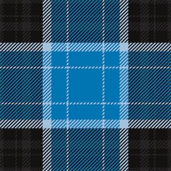 Padrão xadrez sem emenda. verifique a textura do tecido. fundo quadrado da listra. projeto de tartan têxtil de vetor.