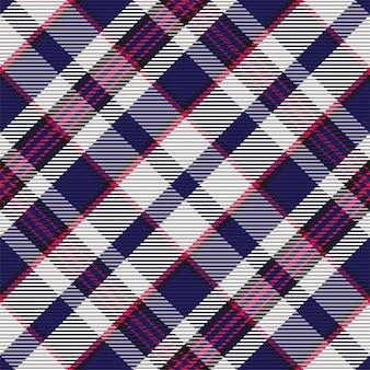 Padrão xadrez sem emenda. verifique a textura do tecido. fundo quadrado da listra. tartan design têxtil