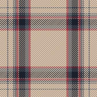 Padrão xadrez sem emenda. verifique a textura do tecido. tartan design têxtil.